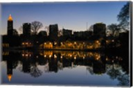 Midtown Skylines and Lake, Atlanta Fine-Art Print