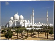 Sheikh Zayed Bin Sultan Al Nahyan Grand Mosque, Abu Dhabi, United Arab Emirates Fine-Art Print
