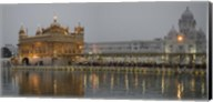 Golden Temple at Dusk, Amritsar, India Fine-Art Print