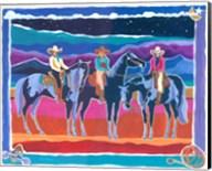 Three Cowgirls Fine-Art Print
