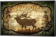 Welcome - Lodge Elk Fine-Art Print