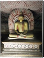 Buddha Statue, Dambulla Cave Temple, Sri Lanka Fine-Art Print