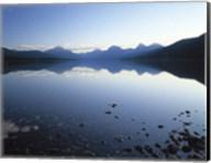 Lake McDonald and the Rocky Mountains, Montana Fine-Art Print