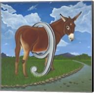 Asinine (Ass in 9) Fine-Art Print