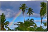Rainbow, Taveuni, Fiji Fine-Art Print