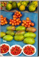 Nadi Produce Market, Nadi, Viti Levu, Fiji Fine-Art Print