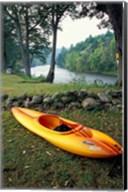 Kayak on Housatonic River, Litchfield Hills, Housatonic Meadows State Park, Connecticut Fine-Art Print