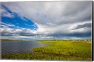 Salt Marsh side of Long Beach in Stratford, Connecticut Fine-Art Print