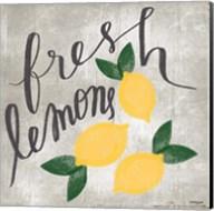 Fresh Lemons Fine-Art Print