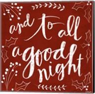 To All a Good Night Fine-Art Print