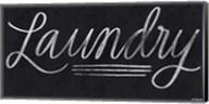Laundry Chalkboard Fine-Art Print