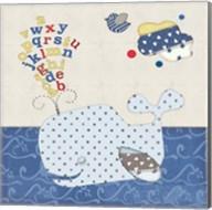 Alphabet Whale Fine-Art Print