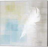 White Feather Abstract II Fine-Art Print