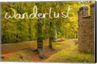 Saalburg Castle Wall Fine-Art Print