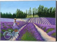 Picking Lavender Fine-Art Print