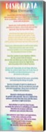 Colorful Desiderata Fine-Art Print
