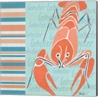 Nautical Lobster Fine-Art Print