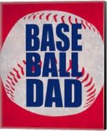 Baseball Dad In Red Fine-Art Print