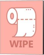 Girl's Bathroom Task-Wipe Fine-Art Print
