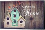 No Place Like Home Bird Houses Fine-Art Print