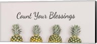 Count Your Blessings Pineapples Fine-Art Print