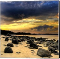 Rocks on Beach Fine-Art Print