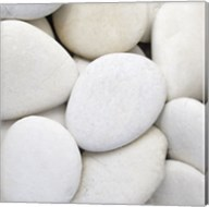 White Pebbles Fine-Art Print