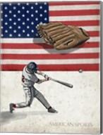 American Baseball 1 Fine-Art Print