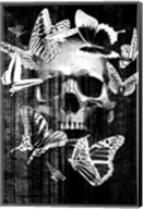 Skull Butterfly Crown Fine-Art Print