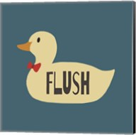 Duck Family Boy Flush Fine-Art Print