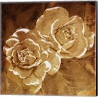 Loving Gold Roses Fine-Art Print