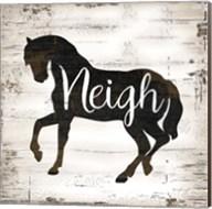 Farmhouse Horse Fine-Art Print