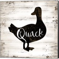 Farmhouse Duck Fine-Art Print