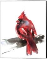 Cardinal on Branch II Fine-Art Print
