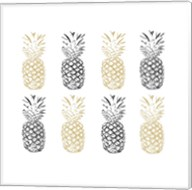 Black and Gold Pineapples Fine-Art Print