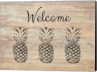 Welcome on Wood Fine-Art Print