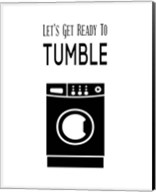 Let's Get Ready To Tumble - White Fine-Art Print