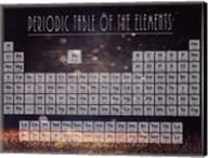 Periodic Table Gold Dust - Purple Fine-Art Print
