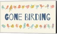 Gone Birding - Colorful Birds Fine-Art Print