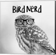 Bird Nerd - Owl Fine-Art Print