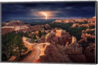 Lightning Over Bryce Canyon Fine-Art Print