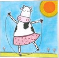 Super Animal - Cow Fine-Art Print