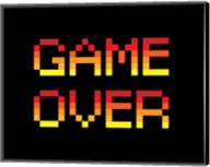 Game Over  - Red Fine-Art Print