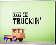 Keep On Truckin' Green Fine-Art Print