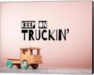 Keep On Truckin' Brown Fine-Art Print