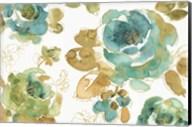 My Greenhouse Roses I Fine-Art Print