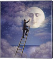Man With Moon Fine-Art Print