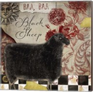 Baa Baa Black Sheep Fine-Art Print