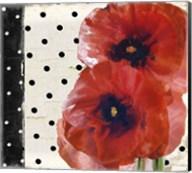 Scarlet Poppies I Fine-Art Print