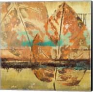 Rain Leaves II Fine-Art Print